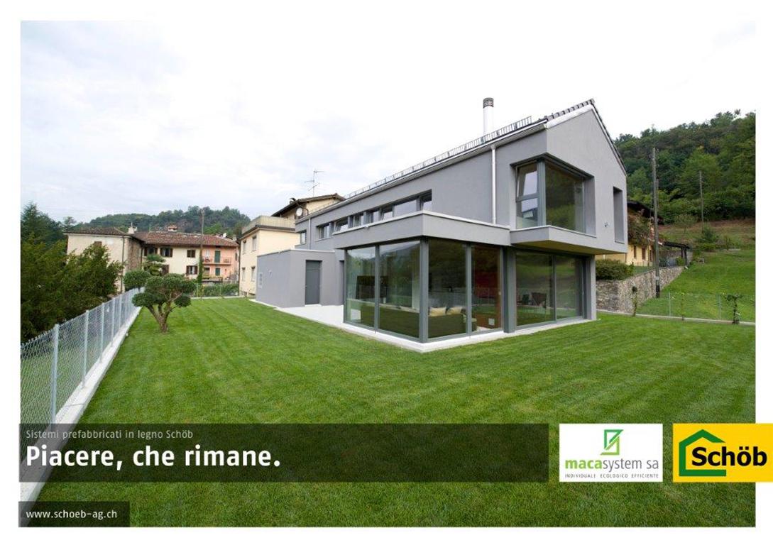 Case in legno Macasystem in fiera a Edilespo 2016 – Lugano